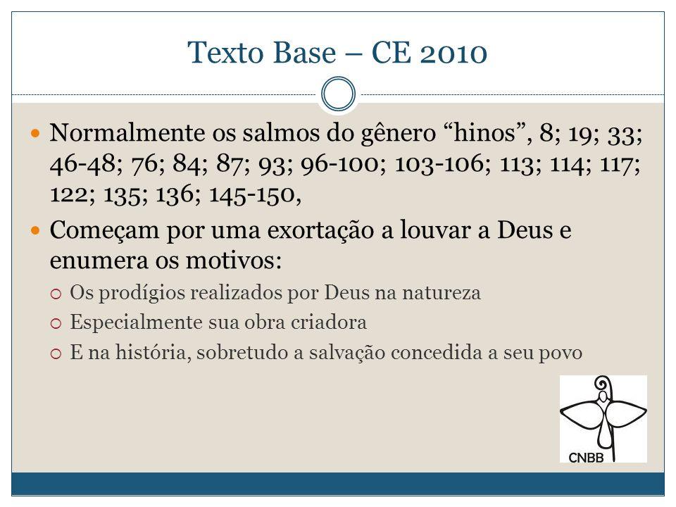 Texto Base – CE 2010