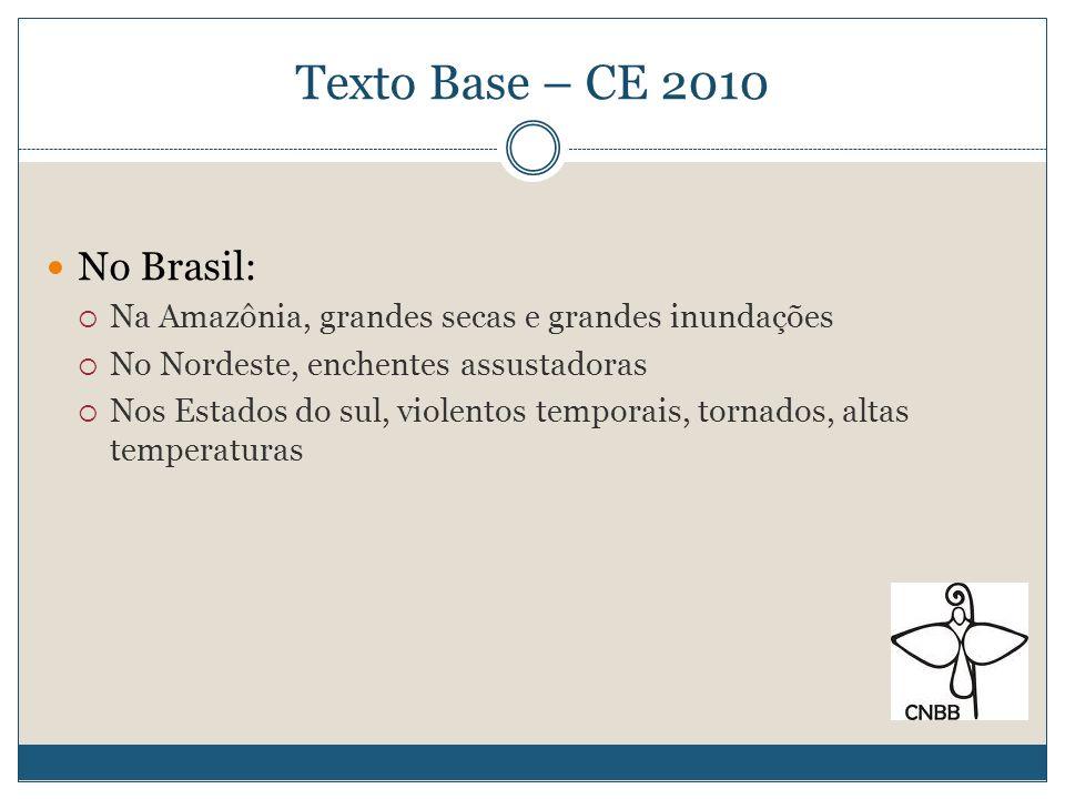 Texto Base – CE 2010 No Brasil: