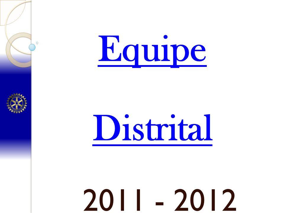 Equipe Distrital 2011 - 2012