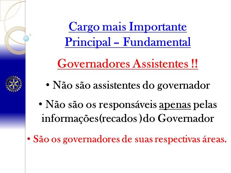 Principal – Fundamental Governadores Assistentes !!
