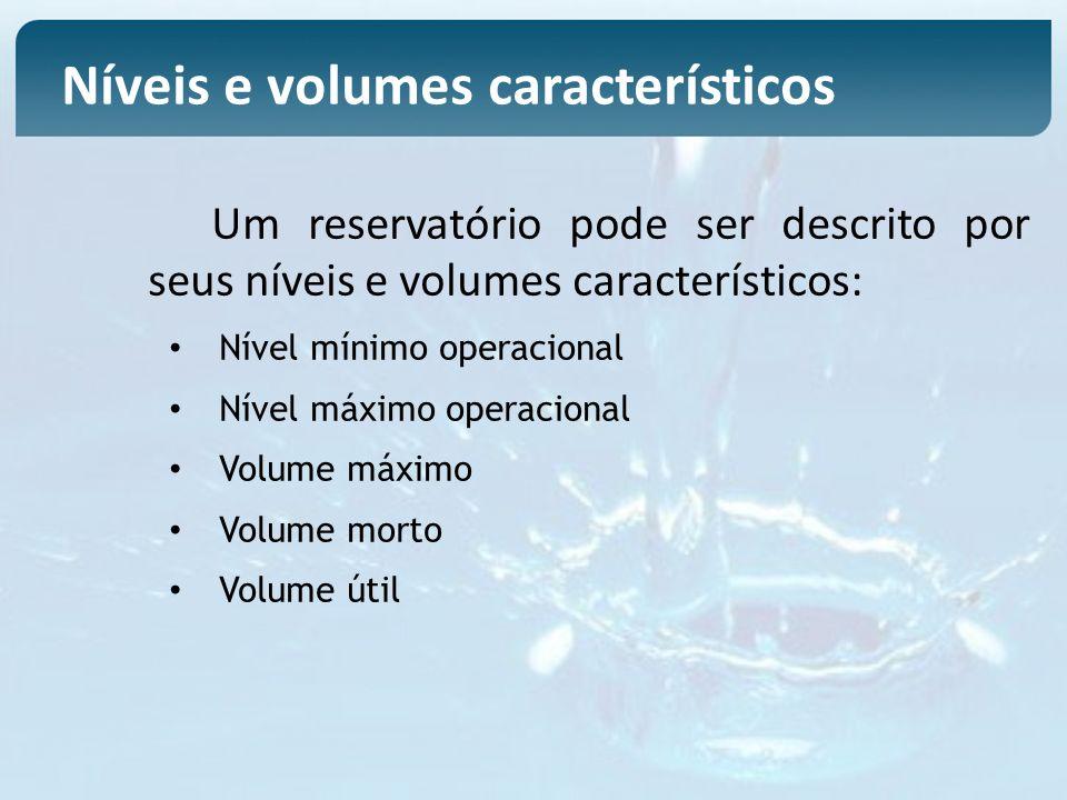 Níveis e volumes característicos