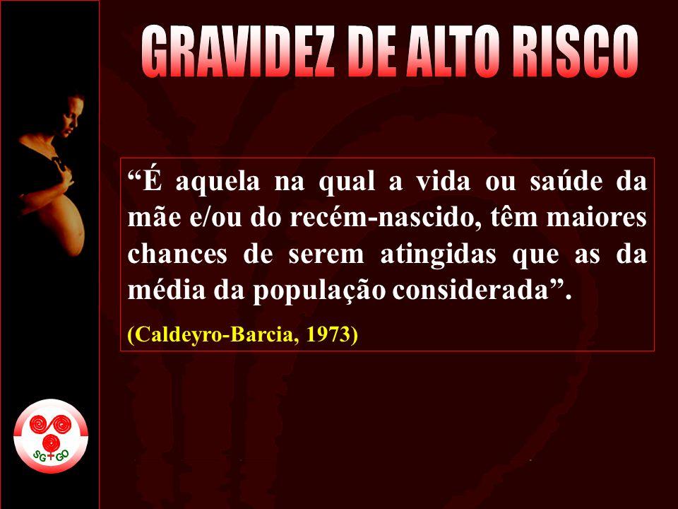 GRAVIDEZ DE ALTO RISCO