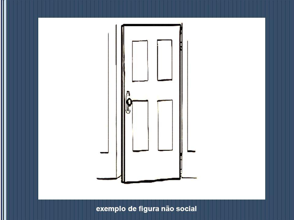 exemplo de figura não social