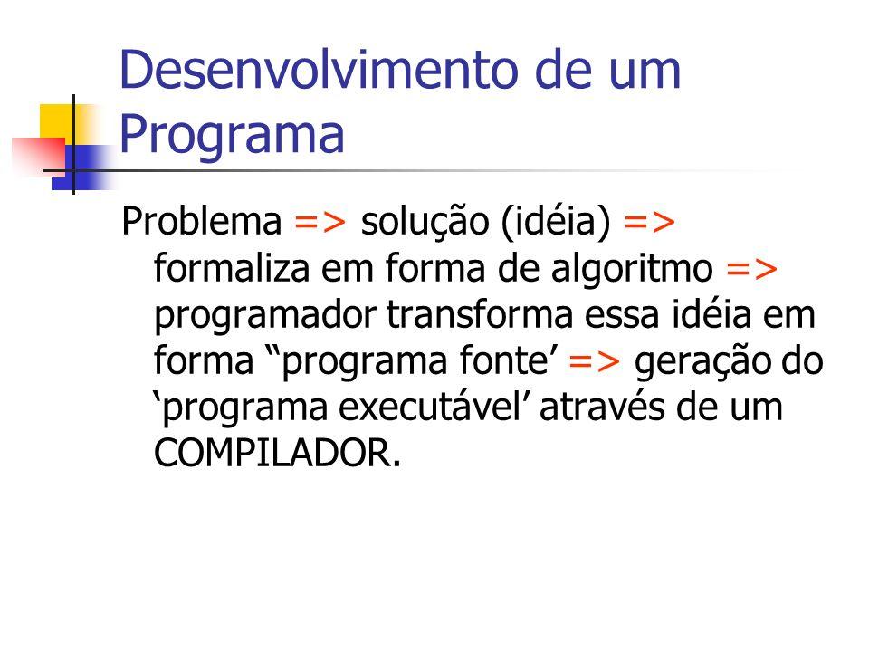 Desenvolvimento de um Programa