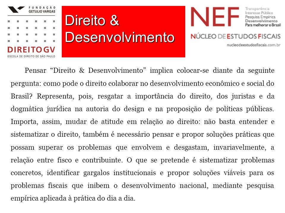 Direito & Desenvolvimento