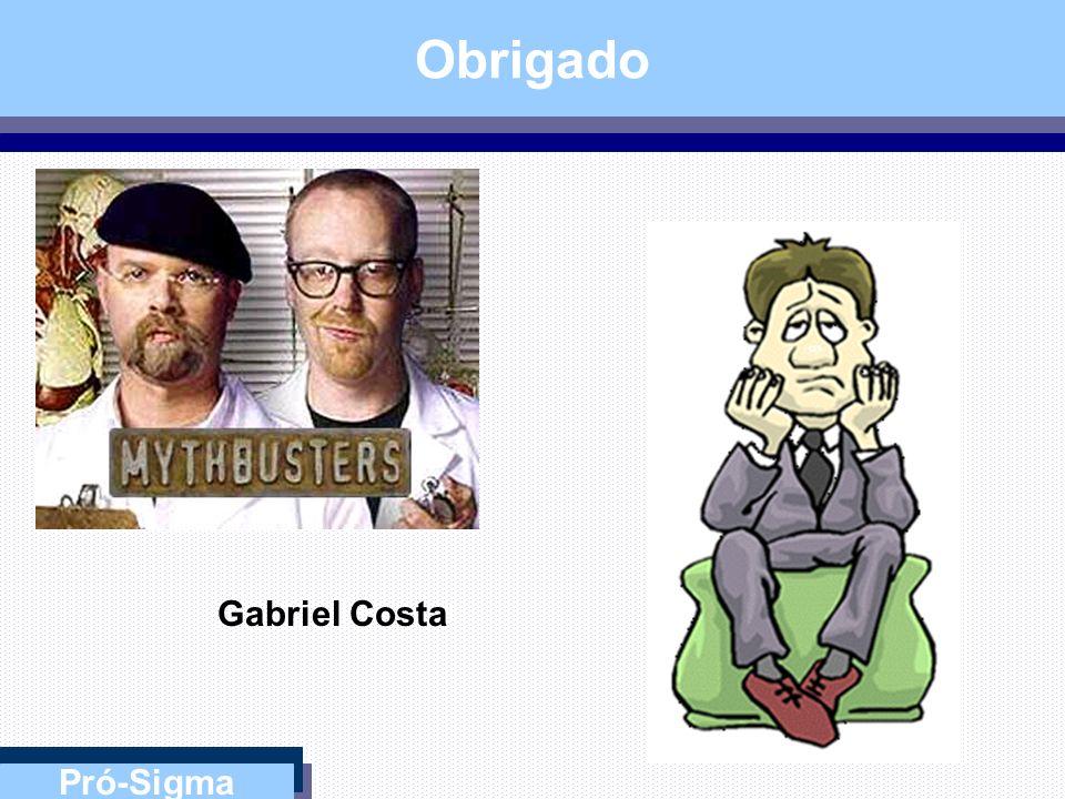 Obrigado Gabriel Costa