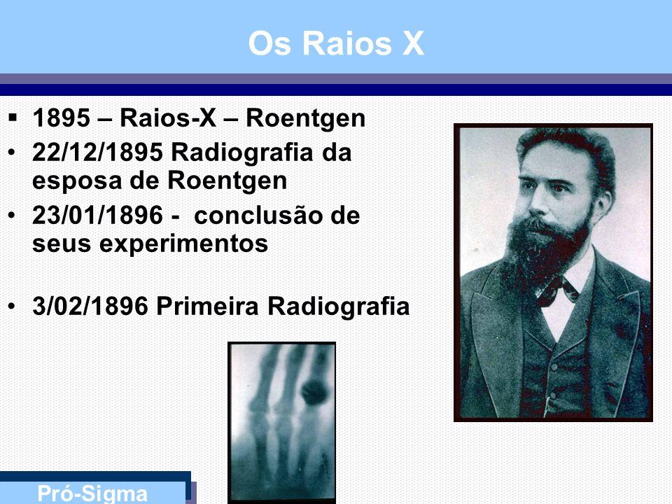 Os Raios X 1895 – Raios-X – Roentgen