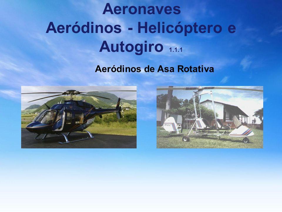 Aeronaves Aeródinos - Helicóptero e Autogiro 1.1.1