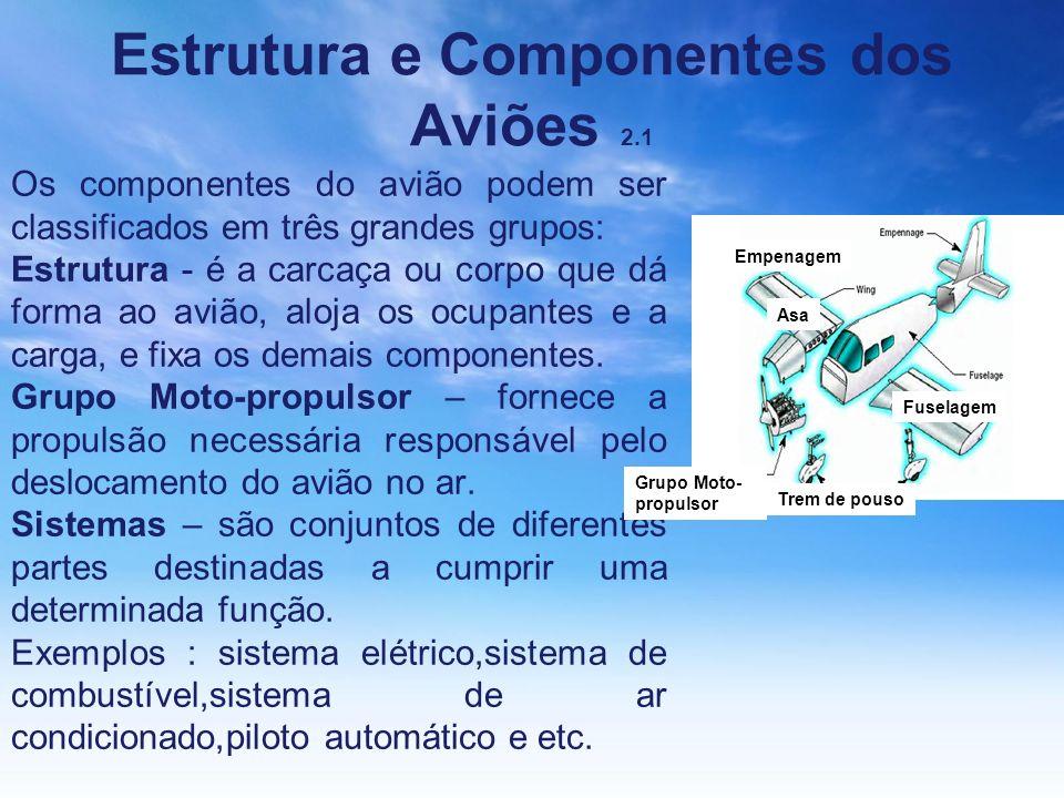 Estrutura e Componentes dos Aviões 2.1