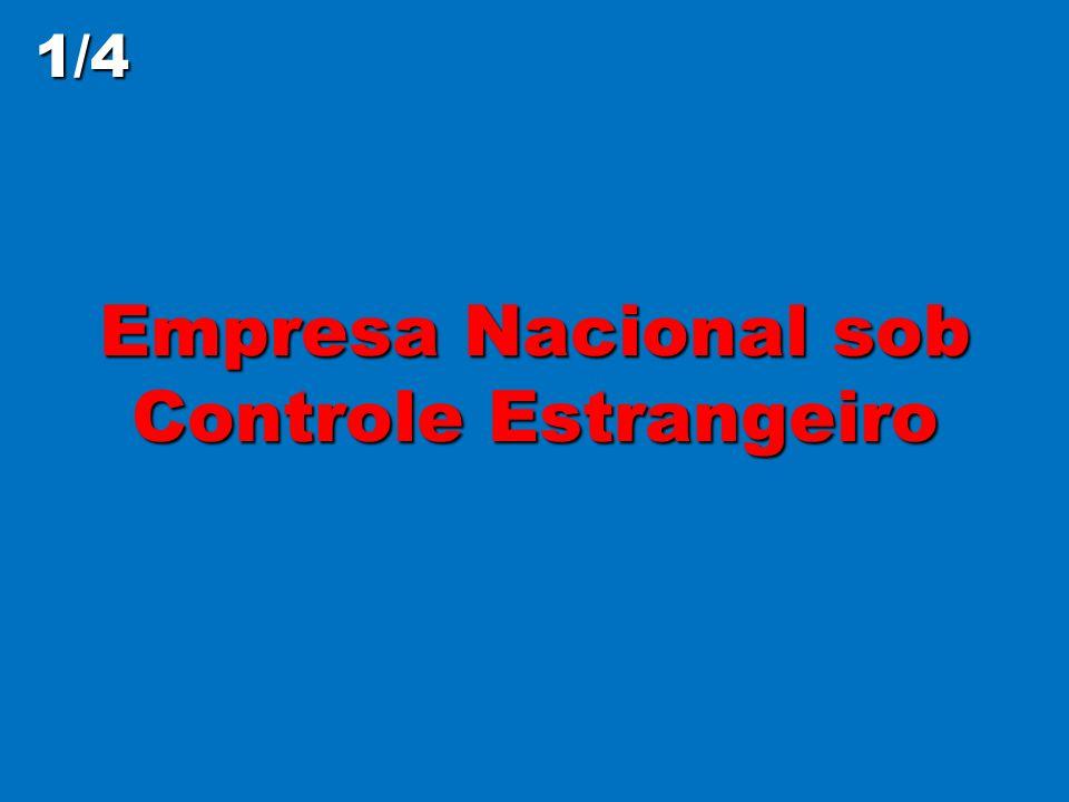 Empresa Nacional sob Controle Estrangeiro