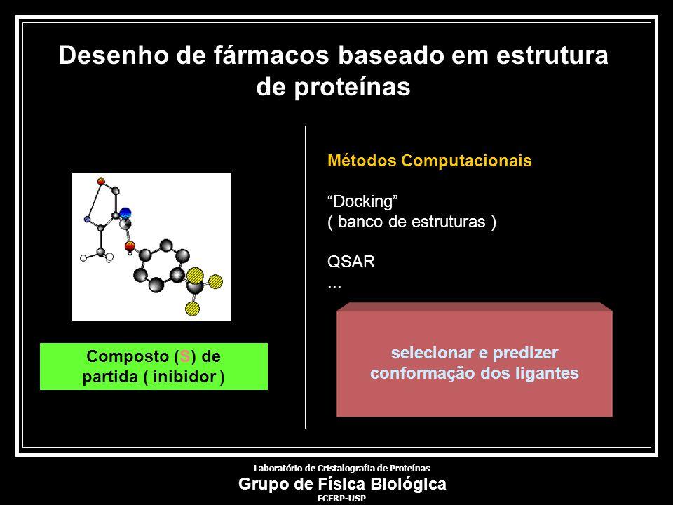 Desenho de fármacos baseado em estrutura de proteínas
