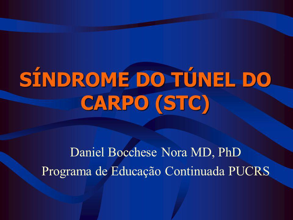 SÍNDROME DO TÚNEL DO CARPO (STC)