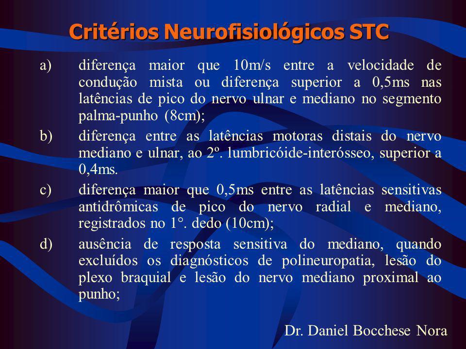 Critérios Neurofisiológicos STC
