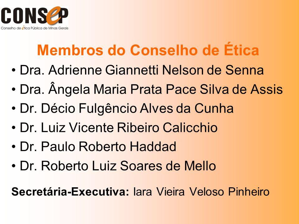 Membros do Conselho de Ética