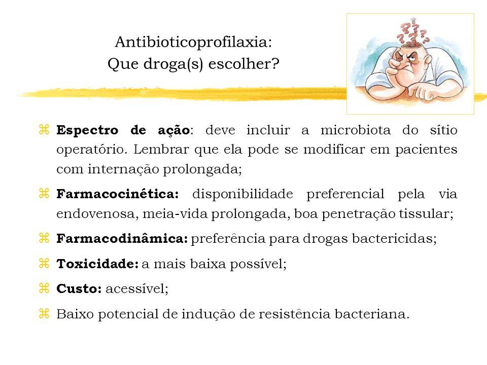 Antibioticoprofilaxia: