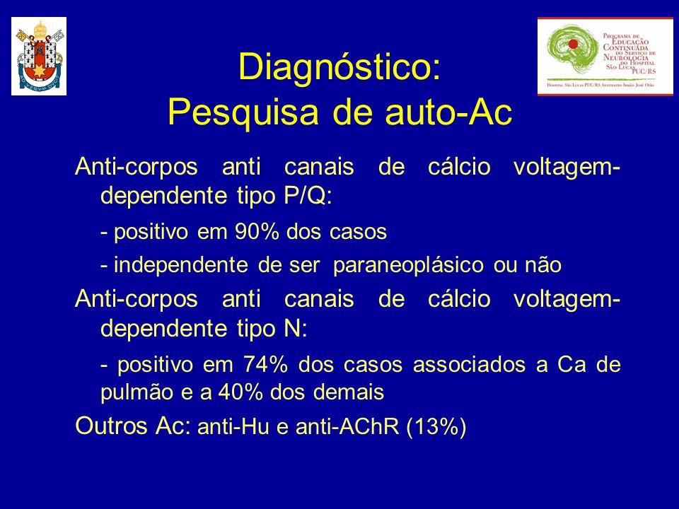 Diagnóstico: Pesquisa de auto-Ac