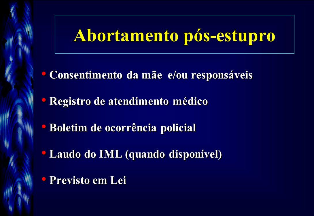 Abortamento pós-estupro