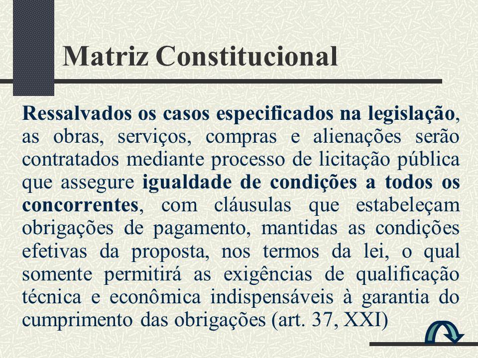 Matriz Constitucional