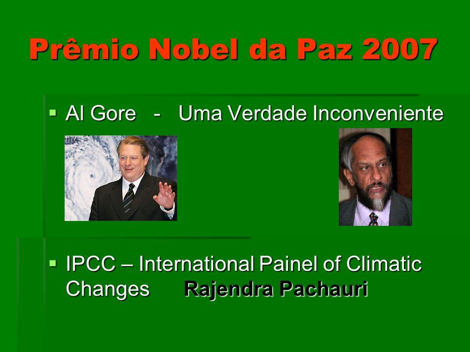 Prêmio Nobel da Paz 2007 Al Gore - Uma Verdade Inconveniente