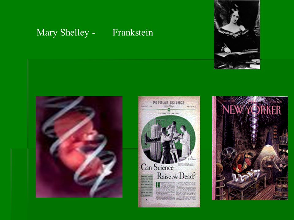Mary Shelley - Frankstein