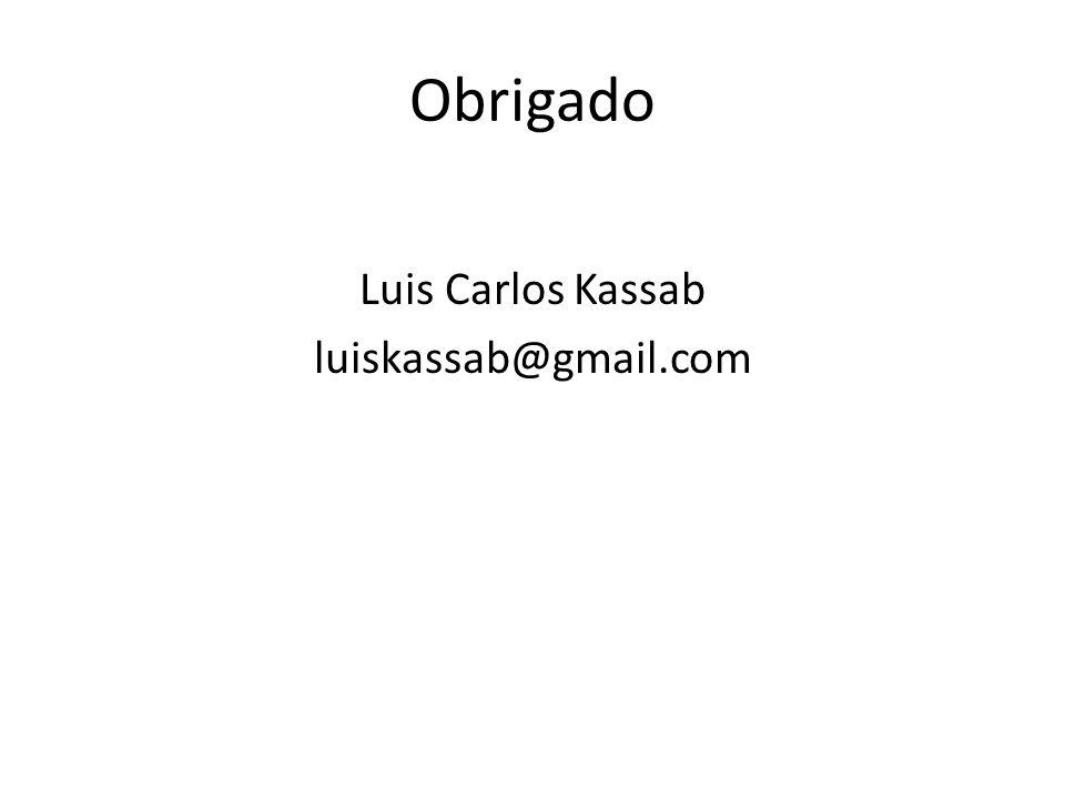 Luis Carlos Kassab luiskassab@gmail.com