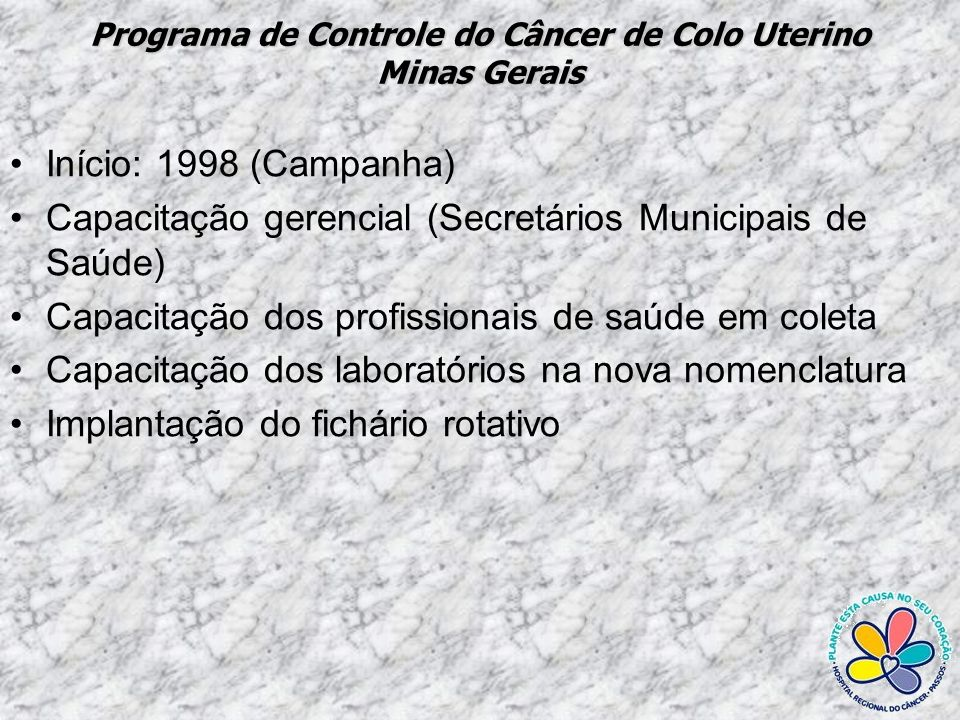 Programa de Controle do Câncer de Colo Uterino