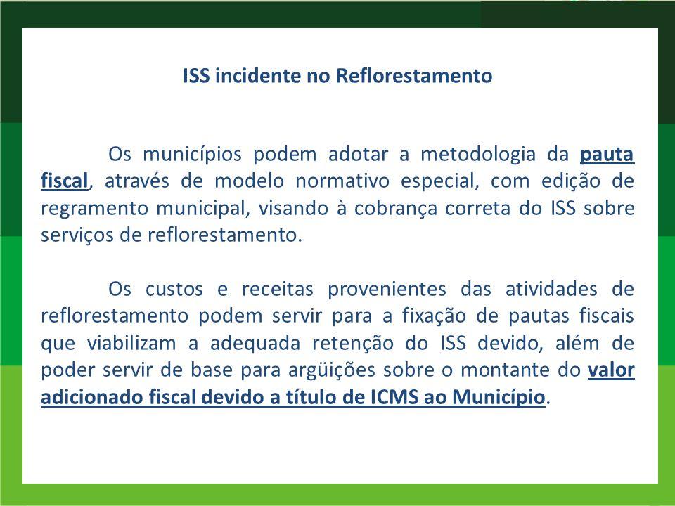 ISS incidente no Reflorestamento