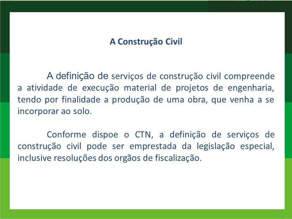 A Construção Civil