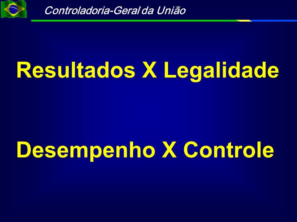 Resultados X Legalidade