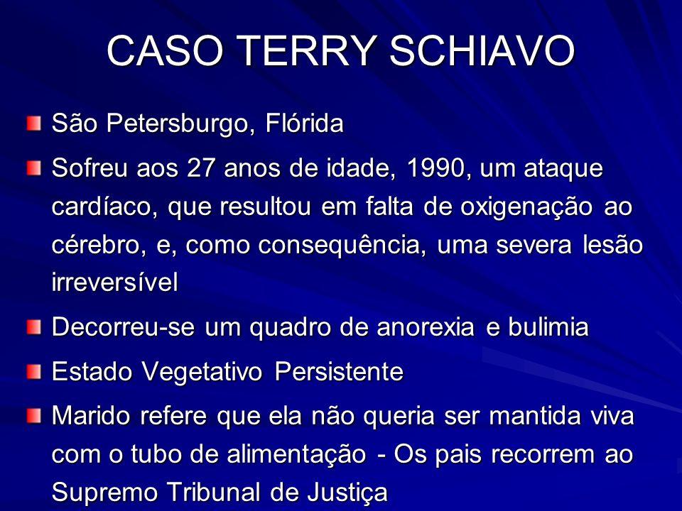 CASO TERRY SCHIAVO São Petersburgo, Flórida