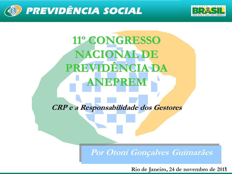 11º CONGRESSO NACIONAL DE PREVIDÊNCIA DA ANEPREM