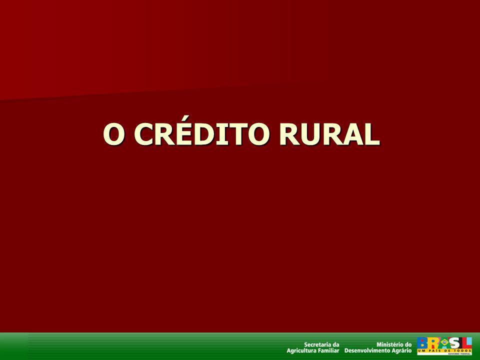 O CRÉDITO RURAL