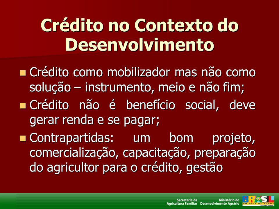 Crédito no Contexto do Desenvolvimento