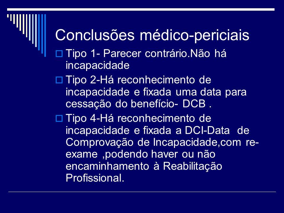 Conclusões médico-periciais