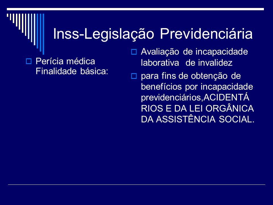 Inss-Legislação Previdenciária