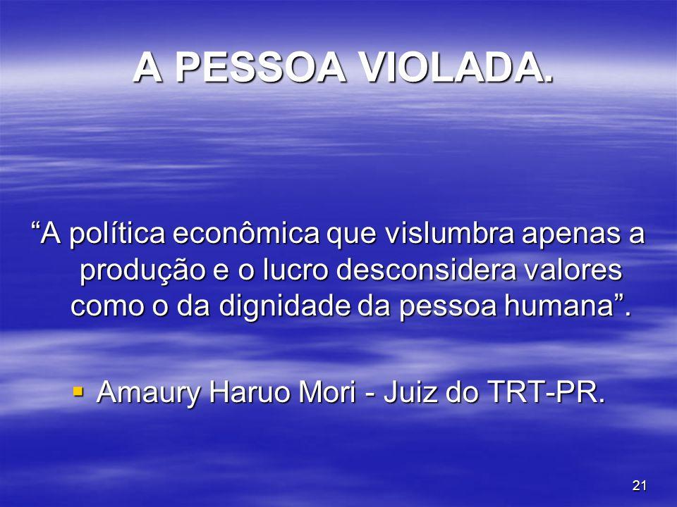 Amaury Haruo Mori - Juiz do TRT-PR.