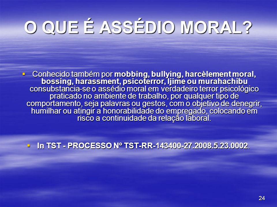In TST - PROCESSO Nº TST-RR-143400-27.2008.5.23.0002.