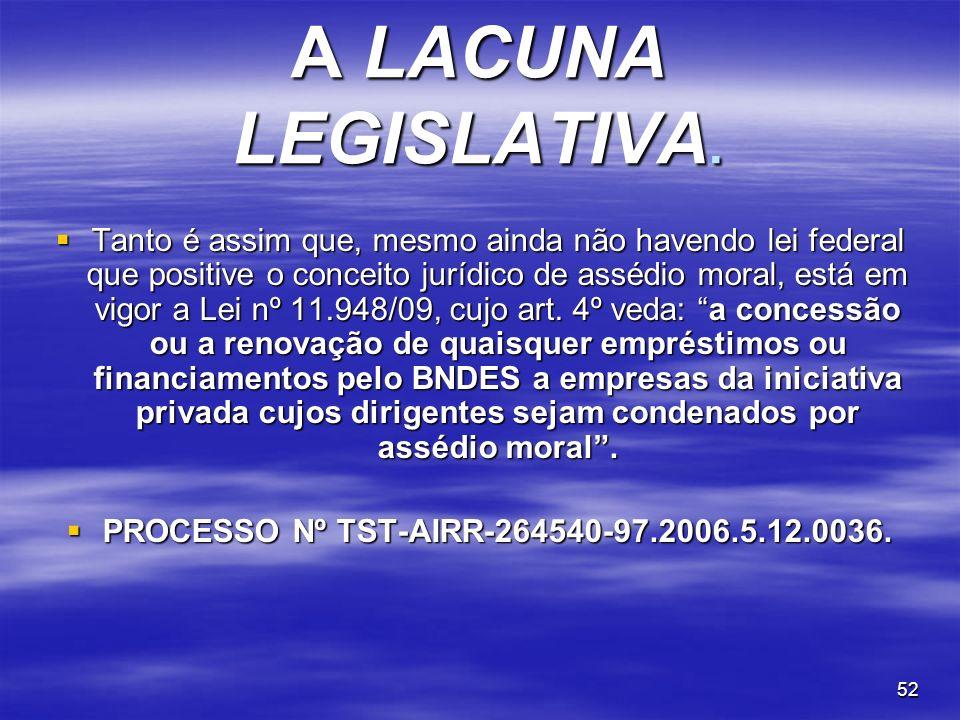 PROCESSO Nº TST-AIRR-264540-97.2006.5.12.0036.