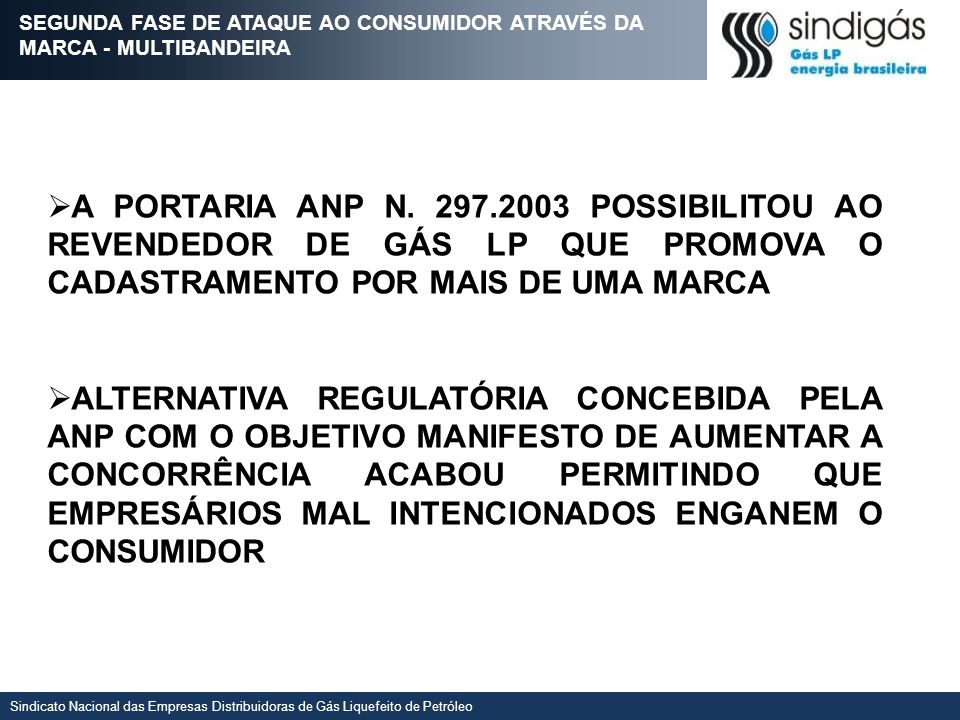 SEGUNDA FASE DE ATAQUE AO CONSUMIDOR ATRAVÉS DA MARCA - MULTIBANDEIRA