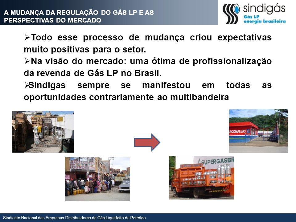 A MUDANÇA DA REGULAÇÃO DO GÁS LP E AS PERSPECTIVAS DO MERCADO