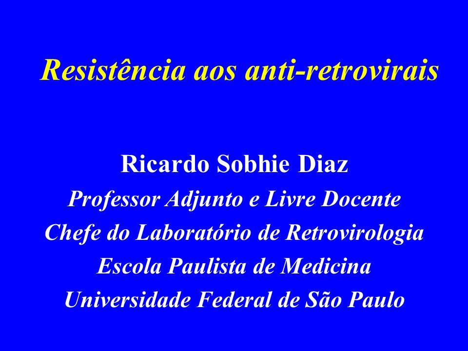 Resistência aos anti-retrovirais