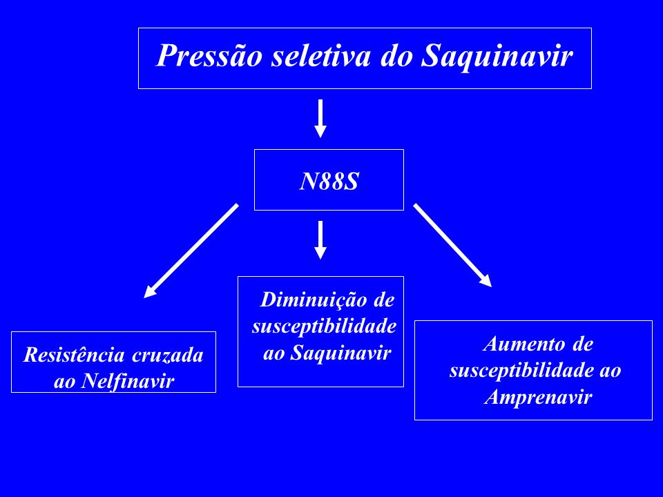 Pressão seletiva do Saquinavir
