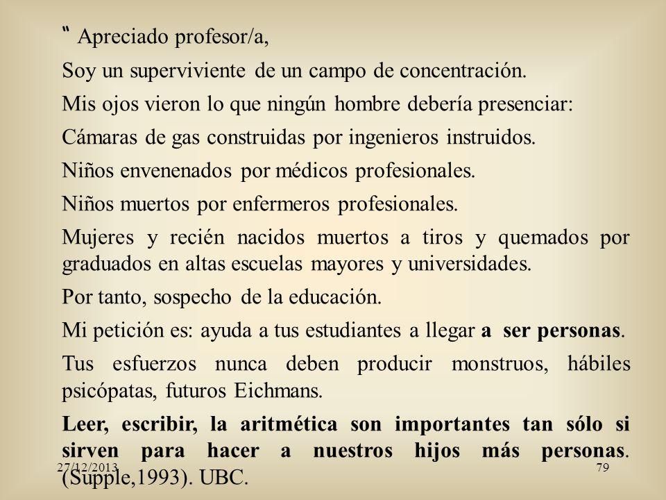 Apreciado profesor/a,