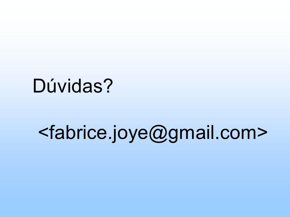 Dúvidas <fabrice.joye@gmail.com>