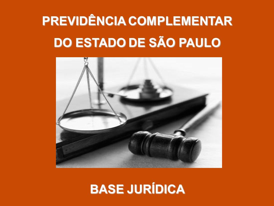 PREVIDÊNCIA COMPLEMENTAR DO ESTADO DE SÃO PAULO