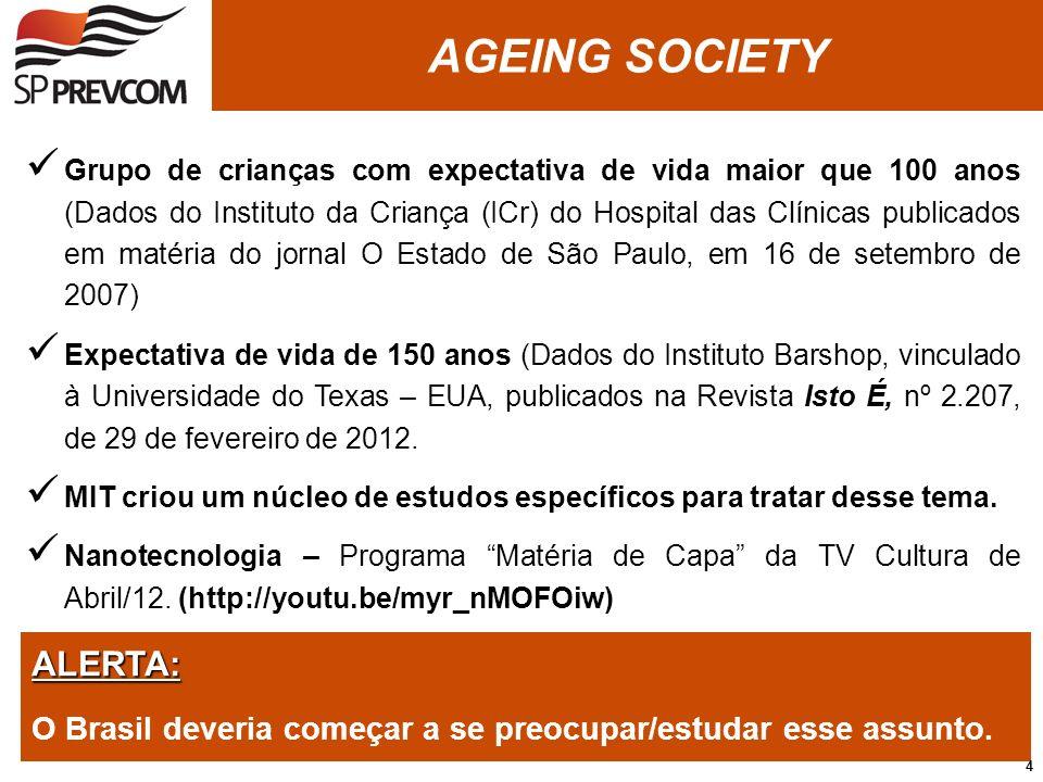 AGEING SOCIETY ALERTA: