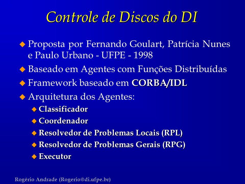 Controle de Discos do DI