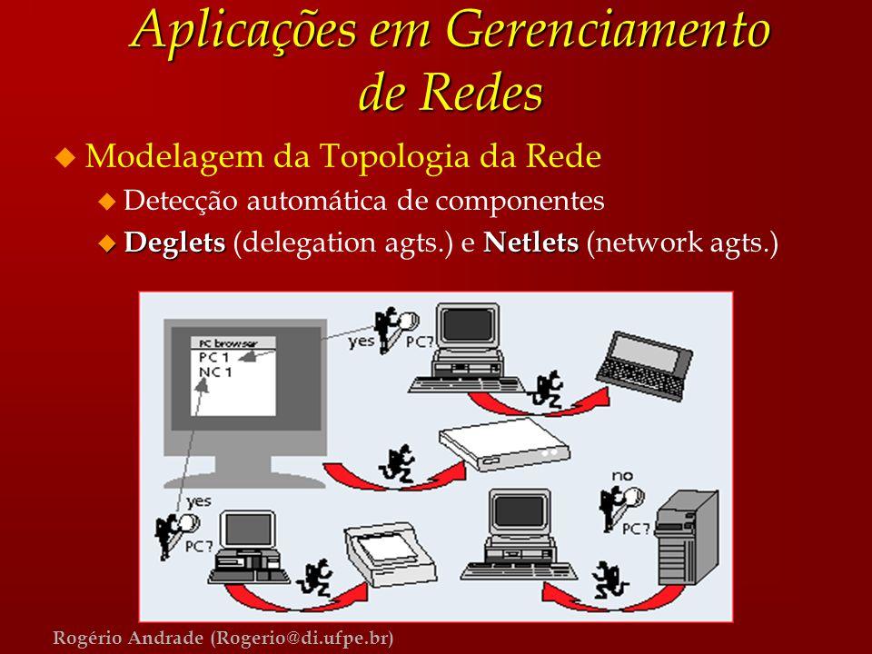 Aplicações em Gerenciamento de Redes