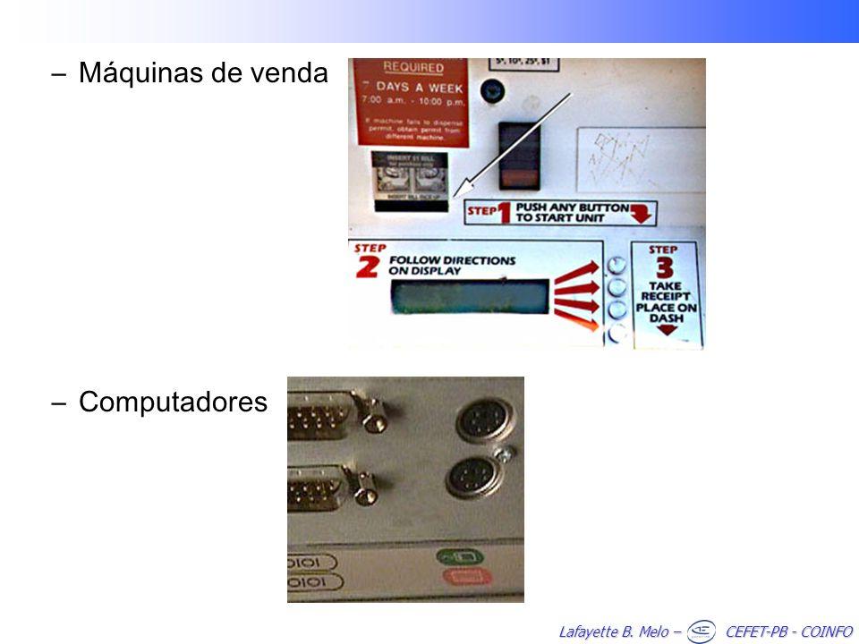Máquinas de venda Computadores