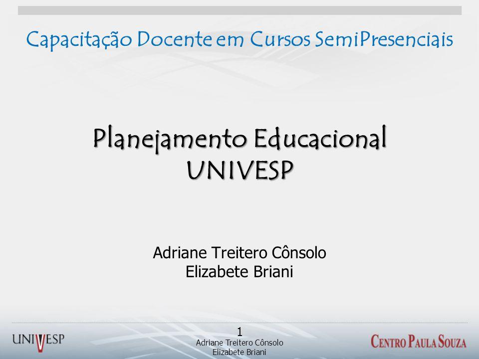 Planejamento Educacional UNIVESP